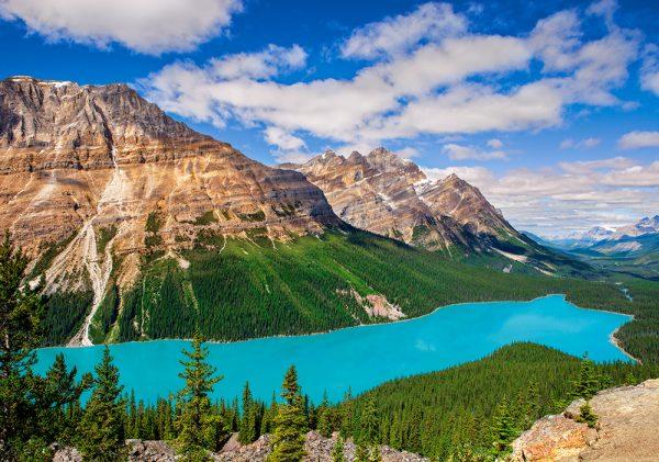 Castorland53056 Peyto Lake Canada 01 Legpuzzels
