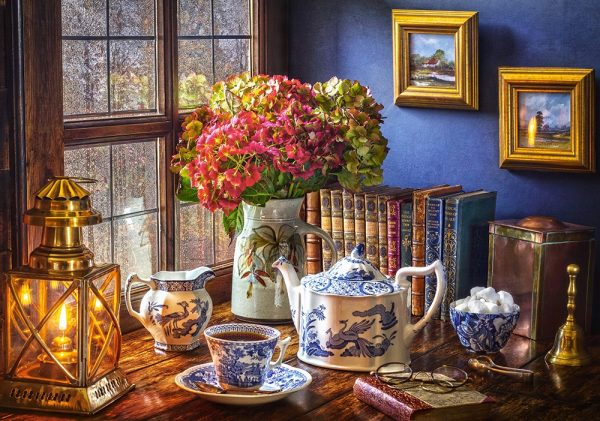 Castorland53070 Tea Time 01 Legpuzzels