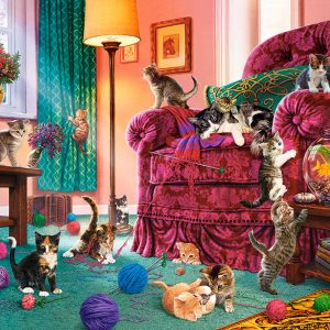 Castorland53254 Naughty Kittens 01 Legpuzzels