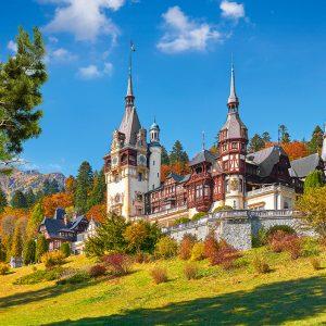 Castorland53292 Castle Peles Romania 01 Legpuzzels