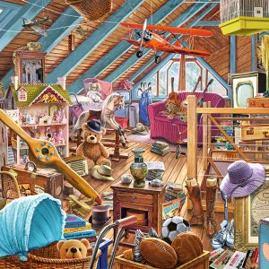 Castorland53407 The Cluttered Attic 01 Legpuzzels
