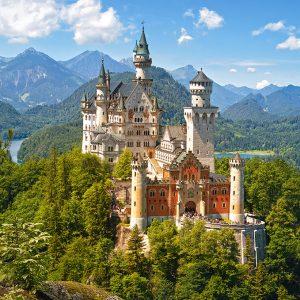 Castorland53544 View Of The Neuschwanstein Castle Germany 01 Legpuzzels