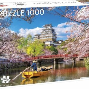 Cherry Blossoms In Himeji Japan