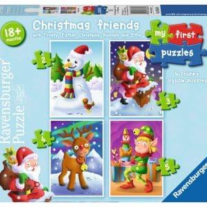Christmas Friends Mijn Eerste Puzzel 4 In 1 Ravensburger068548 01 Kinderpuzzels.nl .jpg
