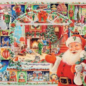 Kerst Kerstman Kado's Cadeau's Ravensburger