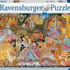 Cinderella The Glass Slipper Legpuzzels