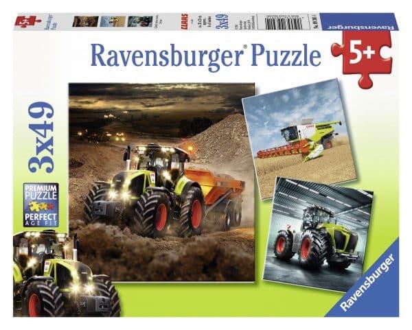 Claas Axion Lexion Xerion Grote Landbouwvoertuigen Ravensburger093014 01 Kinderpuzzels.nl .jpg