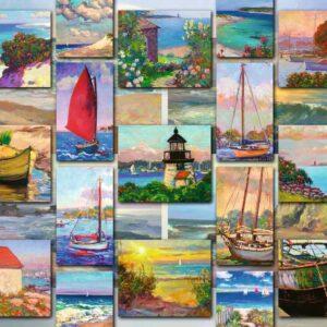 coastal collage 16820 ravensburger 1