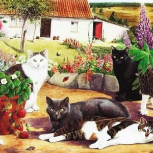Cool Cats The House Of Puzzles Legpuzzel 5060002001585 1.jpg