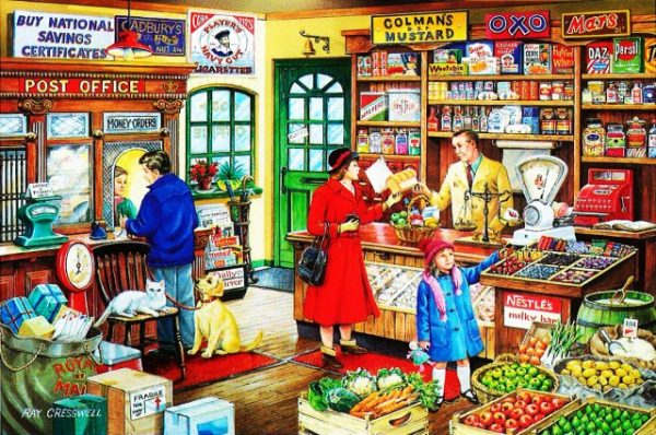 Corner Shop The House Of Puzzles Legpuzzel 5060002002056 1.jpg