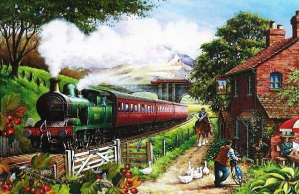Country Crossing The House Of Puzzles Legpuzzel 5060002001974 1.jpg