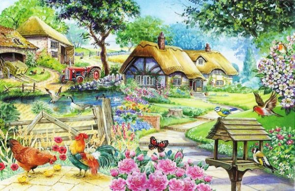 Country Living The House Of Puzzles Legpuzzel 5060002001592 1.jpg