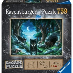 Curse Of The Wolves Escape Puzzel Ravensburger164349 02 Legpuzzels.nl