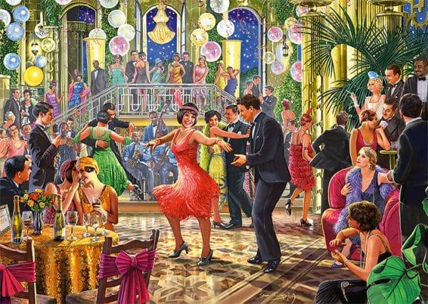 Dancing The Night Away Jumbo Legpuzzels
