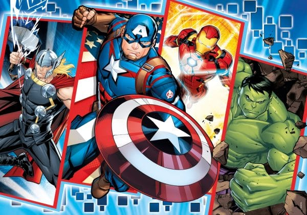 De Avengers Marvel Clementoni Kinderpuzzel