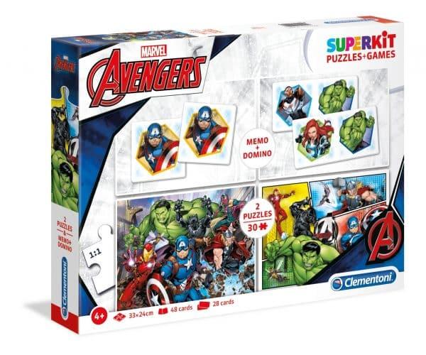 De Avengers Clementoni Kinderpuzzel Hulk