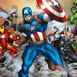 De Avengers Marvel Captain America