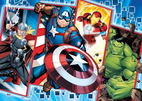 Avengers Clementoni Kinderpuzzel Marvel