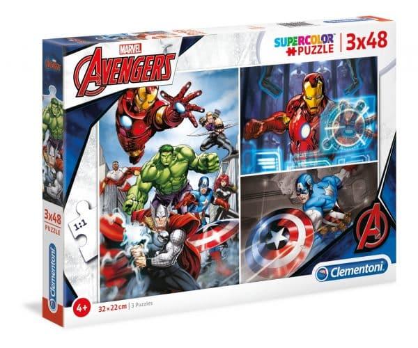 De Avengers Clementoni Kinderpuzzels