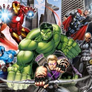 De Avengers Klaar Voor Het Gevecht