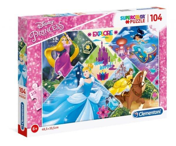 De Disney Prinsessen In Actie