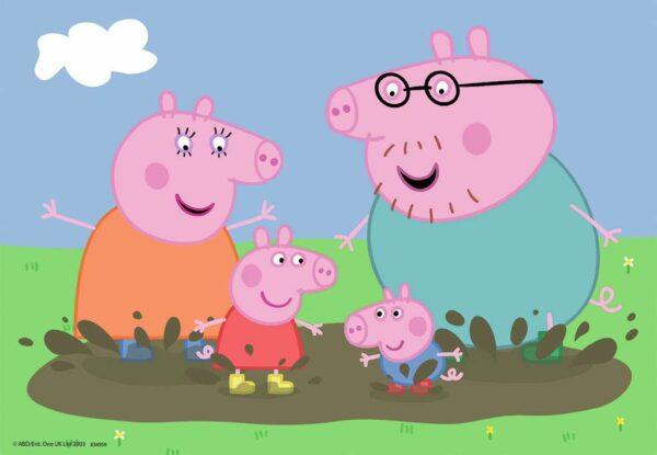 de gelukkige familie van peppa big 2 in 1 2