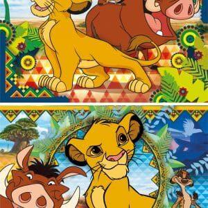 de leeuwenkoning clementoni21604 02 kinderpuzzels 300x300