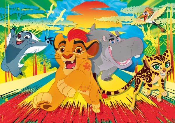 LionKing Leeuwenkoning Clementoni Kinderpuzzels