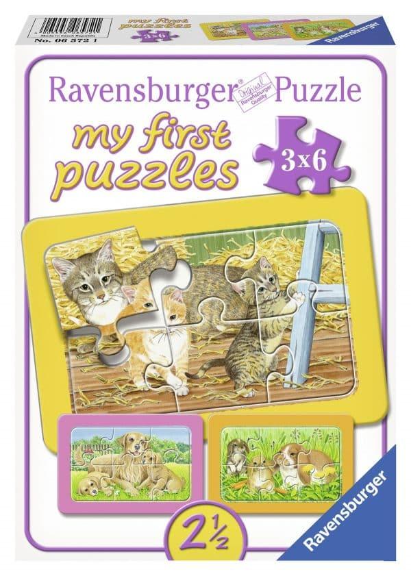 De Liefste Huisdieren Mijn Eerste Puzzel Ravensburger065721 01 Kinderpuzzels.nl .jpg