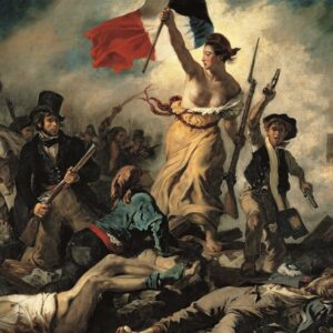 Delacroix Liberty Leading The People Clementoni