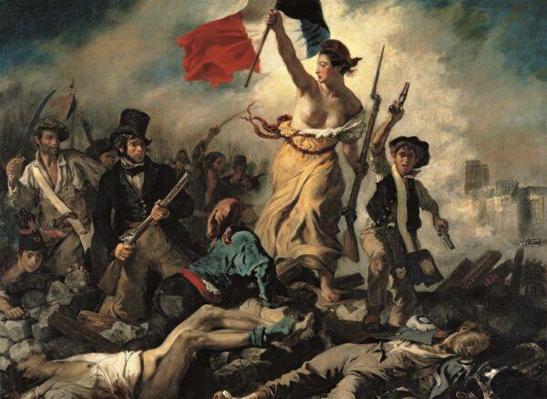 Delacroix Liberty Leading The People Clementoni
