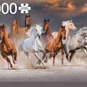 Desert Horses Jumbo18864 01 Legpuzzels.nl