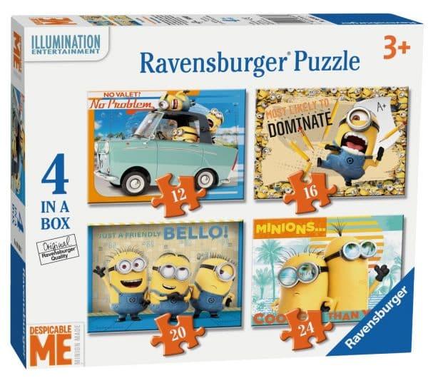 Despicable Me 4 In 1 Ravensburger06868 01 Kinderpuzzels.nl .jpg