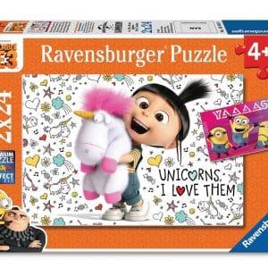 Despicable Me Agnes Minions Ravensburger Kinderpuzzel