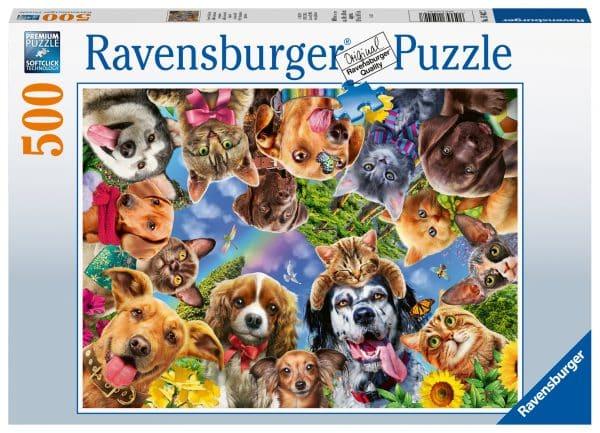Dieren Selfie Ravensburger150427 02 Legpuzzels.nl