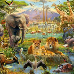dieren van de savanne 128914 1 ravensburger