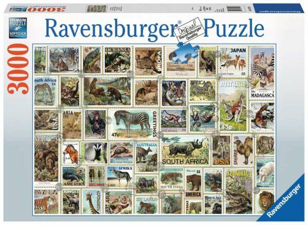 Dierenpostzegels Ravensburger