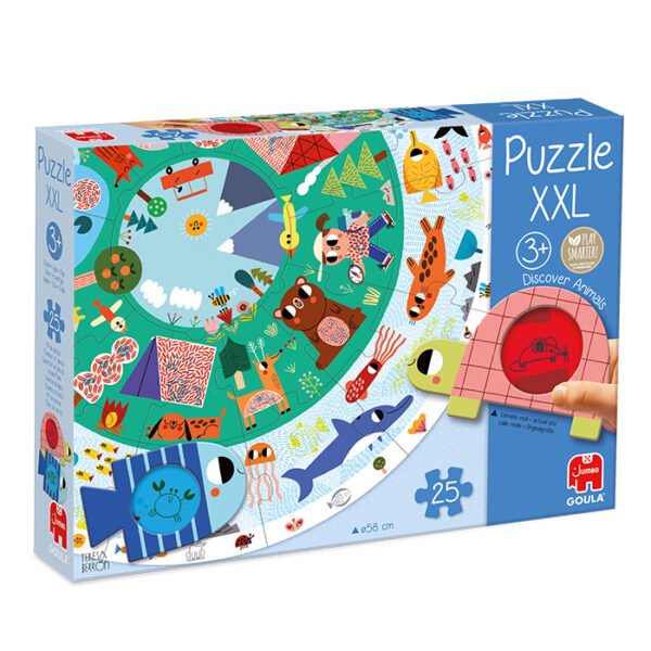 dierenwereld vorm puzzel xxl jumbo 53177 int 1