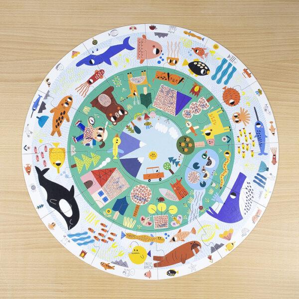 dierenwereld vorm puzzel xxl jumbo 53177 int 9