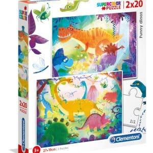 Dinosaurus Clementoni Kinderpuzzels