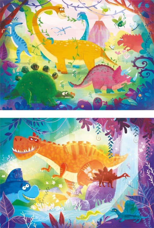 Dinosaurus Clementoni Kinderpuzzel