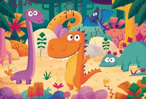 Dinosaurussen Clementoni Kinderpuzzel