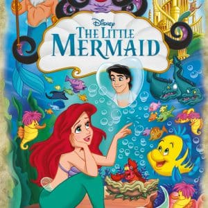 Disney Ariel, The Little Mermaid 30th Anniversary Jumbo18822 01 Legpuzzels.nl