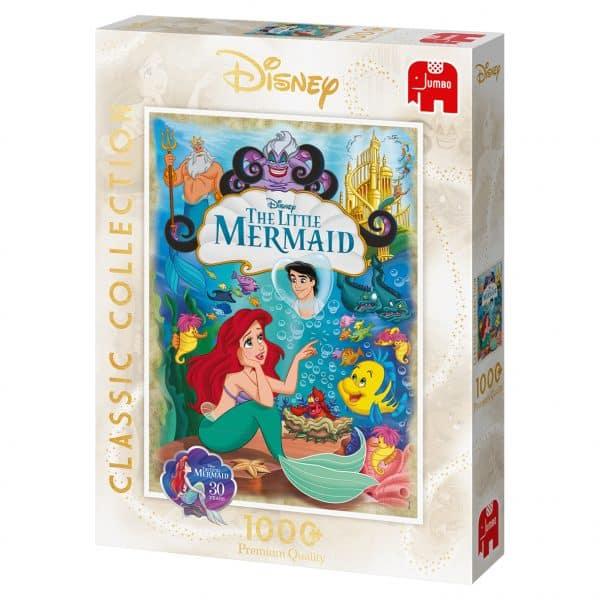 Disney Ariel, The Little Mermaid 30th Anniversary Jumbo18822 02 Legpuzzels.nl