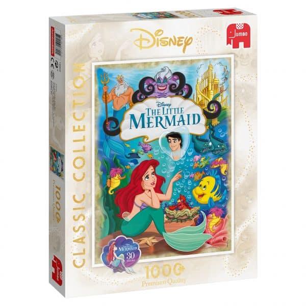 Disney Ariel, The Little Mermaid 30th Anniversary Jumbo18822 03 Legpuzzels.nl