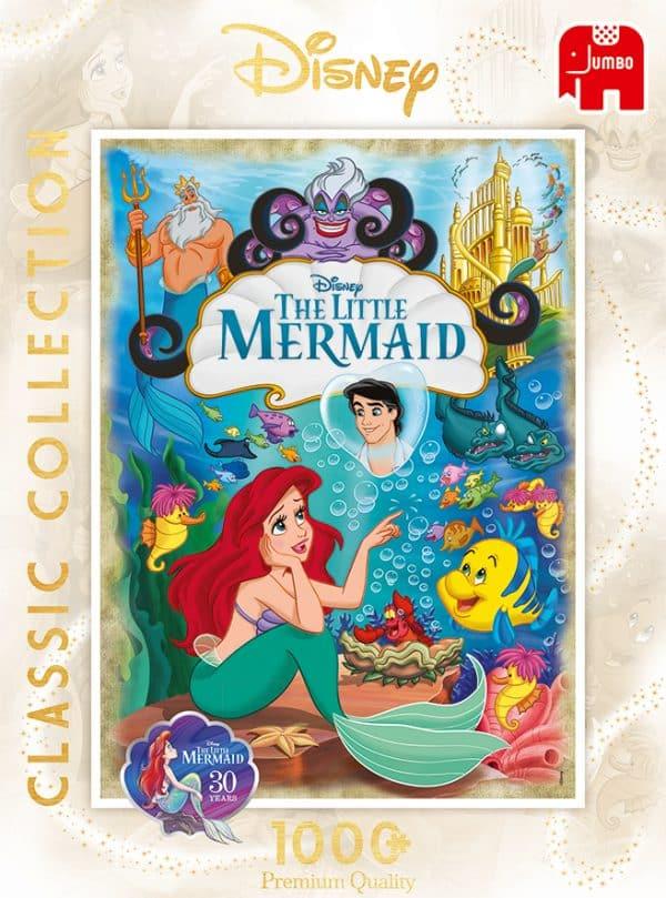 Disney Ariel, The Little Mermaid 30th Anniversary Jumbo18822 04 Legpuzzels.nl