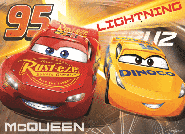 Disney Cars 3 Kinderpuzzel mcqueen
