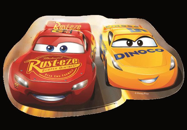 Disney Cars Jeff Gorvette Kinderpuzzel