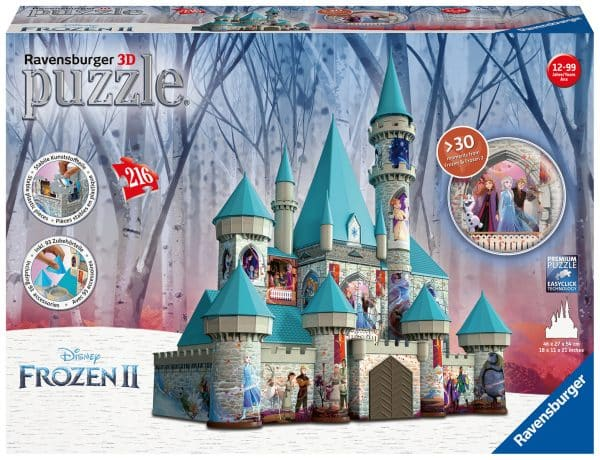 Disney Frozen 2 3d Kasteel Ravensburger111565 02 Legpuzzels.nl