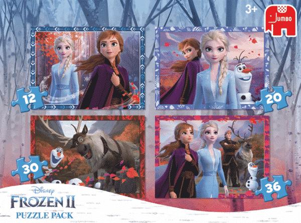 Disney Frozen Kleurplaatpuzzel Jumbo Kinderpuzzel